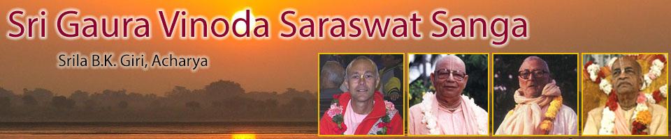 Sri Gaura Vinoda Saraswat Sanga